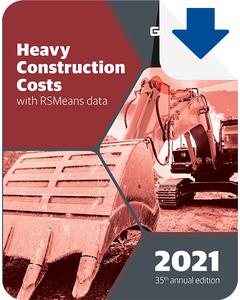 2021 Heavy Construction Cost Data eBook