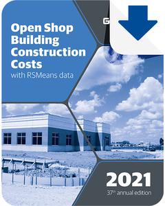 2021 Open Shop Building Construction Cost Data eBook