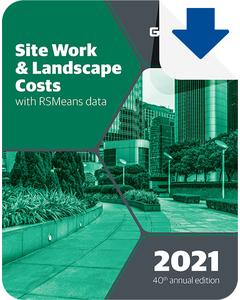 2021 Site Work & Landscape Cost Data eBook